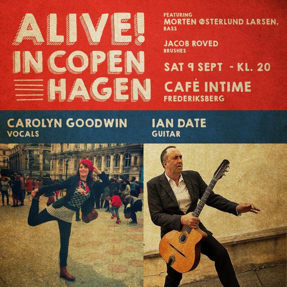 09/09/17 – Cafe Intime – Frederiksberg – Alive in Copenhagen